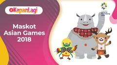 Kenalan Yuk Dengan Maskot Asian Games 2018