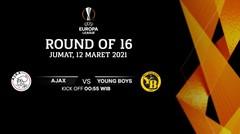Ajax vs Young Boys - Round Of 16 I UEFA Europa League 2020/21