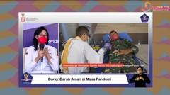 VIDEO: Donor Darah Aman di Masa Pandemi, Ini Penjelasannya