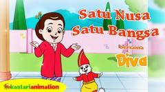 Satu Nusa Satu Bangsa | Lagu Anak Indonesia bersama Diva | Kastari Animation