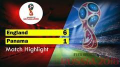 England Vs Panama ( 6 - 1 ) Highlight & Goal