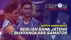 Match Highlight Final - Berlian Bank Jateng 3 vs 1 Bhayangkara Samator | Livoli 2019
