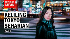 Keliling Tokyo Seharian - JAPAN IN NOVEMBER Vlog Part 1