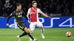 Cuplikan Pertandingan Ajax vs Juventus Leg 1 Babak Perempat Final Liga Champion - Dokter Bola