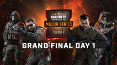 Garena Call of Duty Mobile Major Series Season 3 | Grand Final Day 1