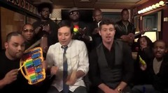 Jimmy Fallon, Robin Thicke _ The Roots Sing _Blurred Lines_