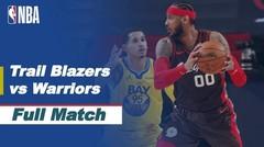 Full Match - Portland Trail Blazers vs Golden State Warriors   NBA Regular Season 2020/21