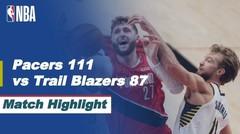 Match Highlight | Indiana Pacers 111 vs 87 Portland Trail Blazers | NBA Regular Season 2020/21