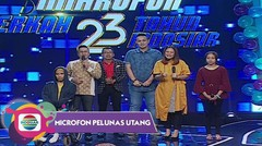 Mikrofon Pelunas Utang - 23 Tahun Indosiar 08/01/18