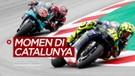 Momen-Momen di MotoGP Catalunya, Valentino Rossi Crash Hingga Fabio Quartararo Juara