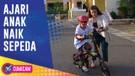 Mahmud Idaman, Ini Momen Keseruan Voke Victoria Ajari Anak Naik Sepeda