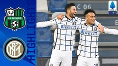 Match Highlight |  Sassuolo 0 vs 3 Inter Milan | Serie A 2020
