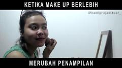 Bahaya ! Jangan makeup lama-lama #kamiprojectkost_