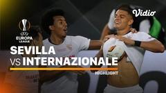 Highlights - Sevilla vs Inter Milan I UEFA Europa League 2019/20
