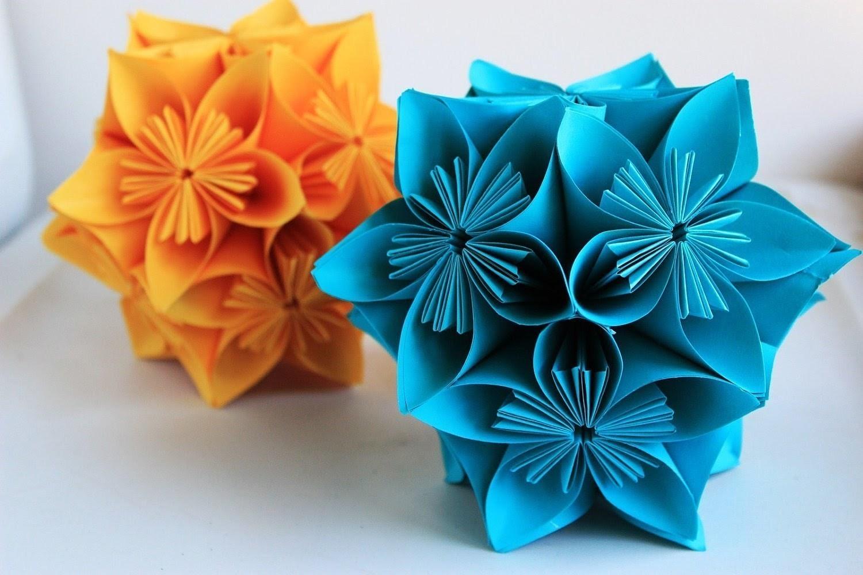 Membuat Hiasan Bunga Dari Kertas Untuk Pemula
