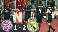Hasil Pertandingan Bayern Munchen vs Real Madrid 1-2 (12-03-2017) - Highlights & Goals