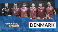 Profil Tim Denmark di Piala Eropa 2020