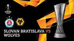 Full Match - Slovan Bratislava vs Wolves | UEFA Europa League 2019/20