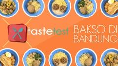(TASTE TEST) Bakso Paling Enak Di Bandung