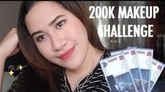200K MAKEUP CHALLENGE INDONESIA | Kevina Christina