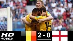 Hasil Pertandingan BELGIA vs INGGRIS 2-0 Piala Dunia 2018 Tadi Malam 14 Juli 2018