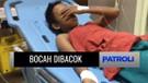 Bocah 12 Tahun Dibacok karena Tidak Memberi Uang Saat Korban Dipalak oleh Pria Bertopeng