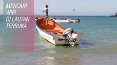 Bayar Kartu Kredit di Tengah Laut