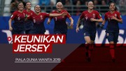 Keunikan 6 Jersey Terbaik di Piala Dunia Wanita 2019