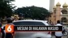 Mesum di Halaman Masjid Raya Padang Sidempuan, Dua Sejoli Nyaris Dihakimi Warga