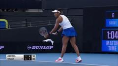 Match Highlight | Naomi Osaka 0 vs 2 Kiki Bertens | WTA Brisbane International 2020