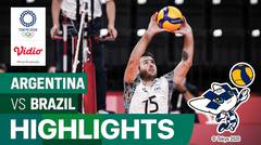 Highlights | Bola Voli Putra | Perebutan Medali Perunggu - Argentina 3 vs 2 Brasil  | Olimpiade Tokyo 2020