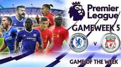 Cuplikan Gol Chelsea vs Liverpool 1-2 - Premier League 17 September 2016