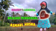 Baby Raesha Belajar Menghafal Asma'ul Husna