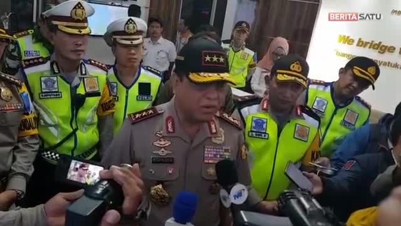 Streaming Polri Harap Arus Balik Lancar Seperti Mudik ...