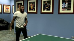 Nate Robinson Takes on Reggie Miller in Ping Pong!