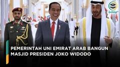 Pemerintah Uni emirat arab Bangun Masjid Presiden joko Widodo
