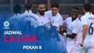 Jadwal Liga Spanyol Pekan 8, Real Madrid Hadapi Huesca