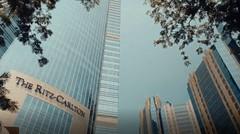 Cinematic Jakarta Cityscape.