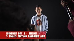 Highlight Day 3 Session 1 : Fotoshoot