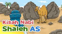Kisah Nabi Shaleh AS Mukjizat Unta dari Dalam Batu - Kartun Anak Muslim