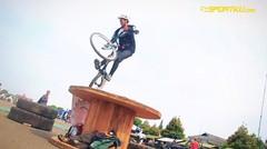 Aksi Seru Rider Trial Lokal _ SPORTKU.COM