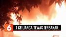 Satu Keluarga di Pemantang Siantar Hangus Terbakar di Dalam Kamar