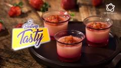 Bintang Tasty: Strawberry Pana Cotta