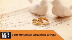 Alasan Banyak Orang Menikah di Bulan Syawal