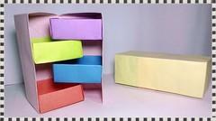 Kotak Perhiasan Kertas Origami