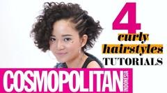 4 Curly Hairstyles Tutorial (Style Untuk Rambut Keriting) | Cosmopolitan Indonesia
