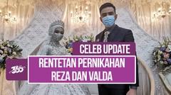 Gelar Resepsi, Reza Zakarya DA dan Valda Alviana Wujudkan Pernikahan Impian