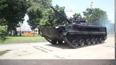 Beginilah Jeroan Tank Amfibi BMP-3F Marinir