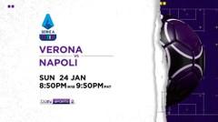 Verona vs Napoli - Minggu, 24 Januari 2021   Serie A