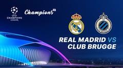 Full Match - Real Madrid Vs Club Brugge I UEFA Champions League 2019/2020
